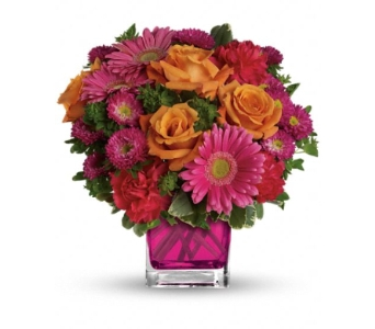 Turn Up the Pink in Bradenton FL, Ms. Scarlett's Flowers & Gifts