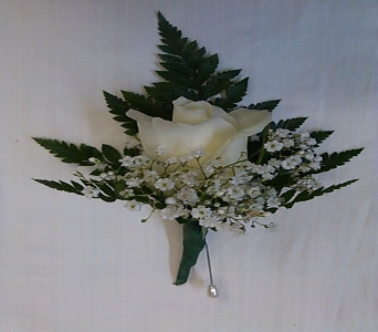 ROSE BOUTONNIERE in Bellmore NY, Petite Florist