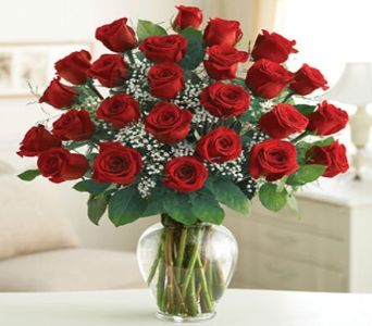 Two Dozen Red Roses in Casper WY, Keefe's Flowers