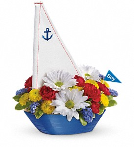 Teleflora's Little Dreamboat Bouquet in Fredonia NY, Fresh & Fancy Flowers & Gifts