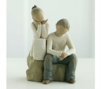 Brother and Sister  Willow Tree Figurine in Nashville TN, The Bellevue Florist