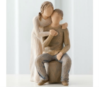 You and Me  Willow Tree Figurine in Nashville TN, The Bellevue Florist