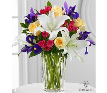 The FTD® New Day Dawns™ Bouquet by Vera Wang in San Clemente CA, Beach City Florist
