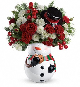 Teleflora's Cookie Jar Greetings Bouquet in Royersford PA, Three Peas In A Pod Florist