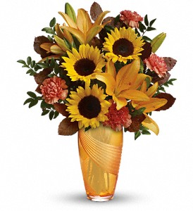 Teleflora's Golden Grace Bouquet in Owego NY, Ye Olde Country Florist