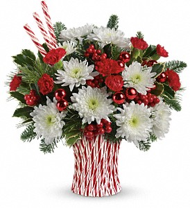 Teleflora's Sweet Holiday Wishes Bouquet in San Jose CA, Almaden Valley Florist