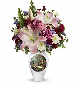 Thomas Kinkade's Moments Of Grace by Teleflora in San Antonio TX, Dusty's & Amie's Flowers