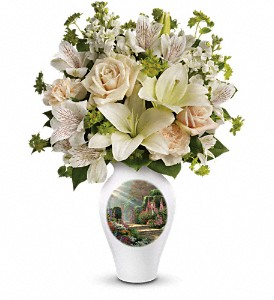 Thomas Kinkade's Radiant Garden by Teleflora in San Antonio TX, Dusty's & Amie's Flowers
