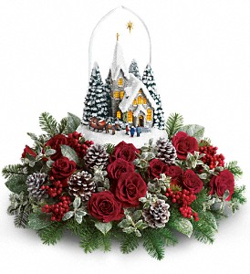 Thomas Kinkade's Starry Night by Teleflora in Randolph Township NJ, Majestic Flowers and Gifts