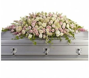Always Adored Casket Spray in Charleston SC, Tiger Lily Florist Inc.