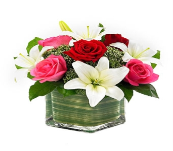 ROSES AND LILY ROMANCE in Vienna VA, Vienna Florist & Gifts