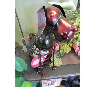 Dog Wine Bottle Holder in Derby KS, Mary's Unique Floral & Gift