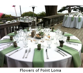 Martin Johnson House in San Diego CA, Flowers Of Point Loma