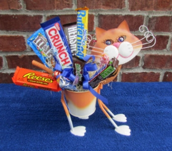 MINIATURE TABBY CAT-local delivery only in Circleville OH, Wagner's Flowers