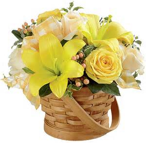 Sunny Surprise Basket in Daly City CA, Mission Flowers