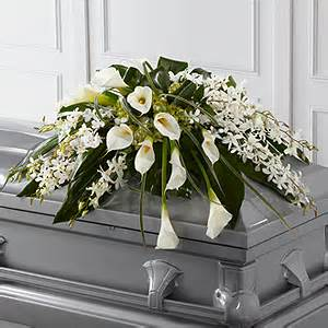 Angel Wings Casket Spray in Daly City CA, Mission Flowers