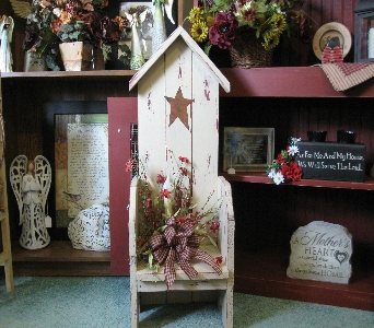 Birdhouse Chair in Oakland City IN, Sue's Flowers & Gifts