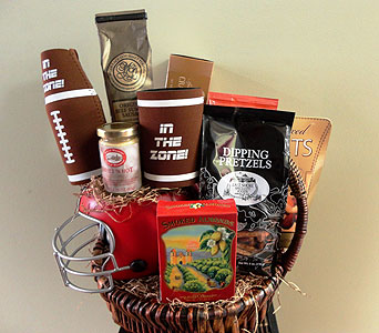 Fantasy Football Basket in Tampa FL, Buds, Blooms & Beyond