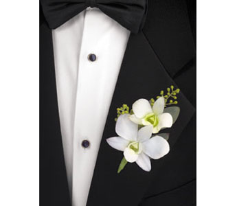Dendrobium Boutonniere in Brooklyn NY, Enchanted Florist