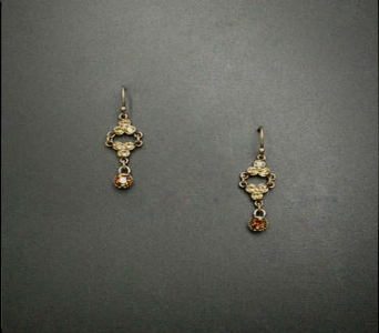 Topaz necklace/earring set in Ashford AL, The Petal Pusher