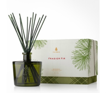 Thymes Limited Frasier Fir Reed Diffuser in Bellevue WA, CITY FLOWERS, INC.