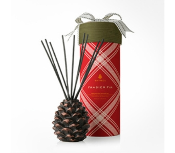 Thymes Limited Frasier Fir Pinecone Reed Diffuser in Bellevue WA, CITY FLOWERS, INC.