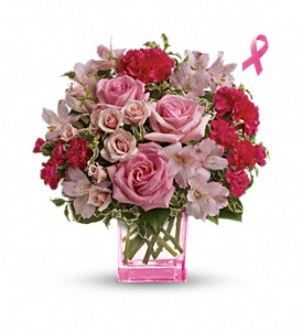 Teleflora's Pink Grace Bouquet in Pawnee OK, Wildflowers & Stuff