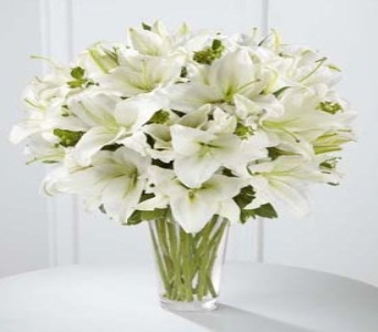 Spirited Grace Lily Bouquet - B26-4389 in Fond Du Lac WI, Haentze Floral Co