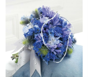 Blue Wedding 4 in Albuquerque NM, Silver Springs Floral & Gift