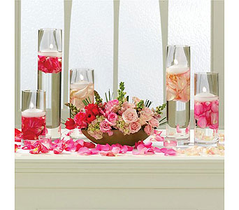 Blushing Beauty Tablescape in Albuquerque NM, Silver Springs Floral & Gift
