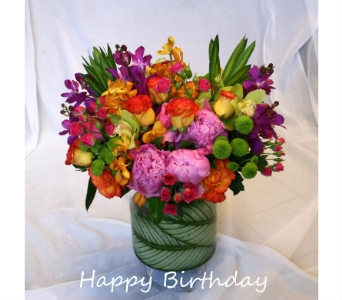 Birthday Surprise in Victoria BC, Fine Floral Designs
