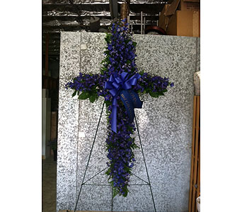 Standing Cross in Bakersfield CA, All Seasons Florist