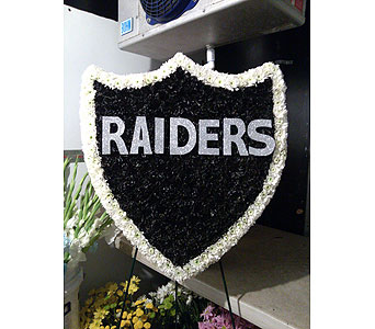 Standing Raiders in Bakersfield CA, All Seasons Florist