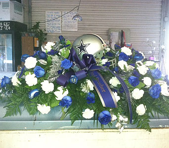 Casket Spray in Bakersfield CA, All Seasons Florist