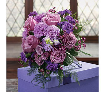 Purple Weddings 2 in Albuquerque NM, Silver Springs Floral & Gift