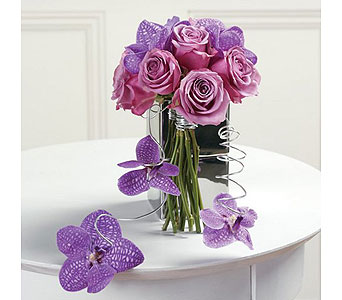 Purple Weddings 31 in Albuquerque NM, Silver Springs Floral & Gift