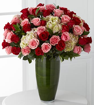 Indulgent Luxury Rose Bouquet - 48 Stems in Hollister CA, Barone's Westlakes Balloons and Gifts