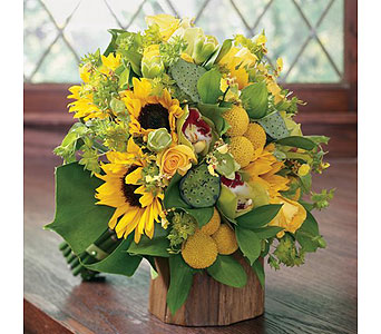 Yellow Wedding 14 in Albuquerque NM, Silver Springs Floral & Gift
