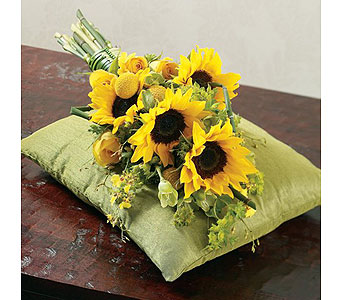 Yellow Wedding 20 in Albuquerque NM, Silver Springs Floral & Gift