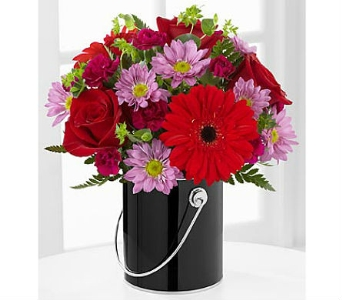 The FTD® Color Your Day with Intrigue™ Bouquet in San Clemente CA, Beach City Florist