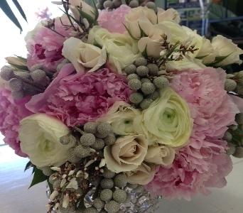 Flowers By the Shore Pink & White Bouquet in Orange Beach AL, Flowers By The Shore