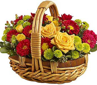 Fall Basket in Cocoa FL, A Basket Of Love Florist