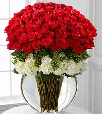 Lavish Luxury Rose Bouquet - 75 Stems of Roses in Hollister CA, Barone's Westlakes Balloons and Gifts