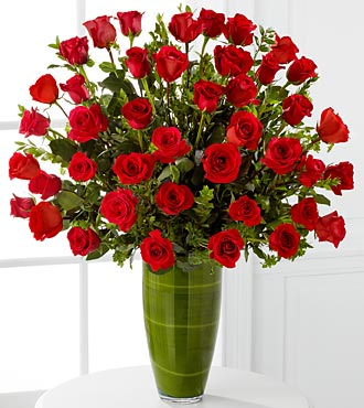 Fascinating Luxury Rose Bouquet - 40 Stems of Rose in Hollister CA, Barone's Westlakes Balloons and Gifts