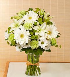 GREEN SERENE RETREAT BOUQUET in Vienna VA, Vienna Florist & Gifts