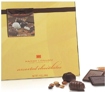 Harry London Milk Assorted Chocolates Gold Box 8oz in Albuquerque NM, Silver Springs Floral & Gift