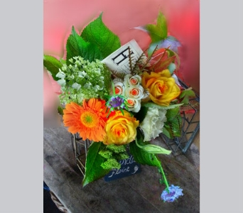 Flower Fields in Orinda CA, Misaghi Design Orinda Florist