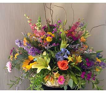Custom Arrangement in Carmichael CA, Bettay's Flowers