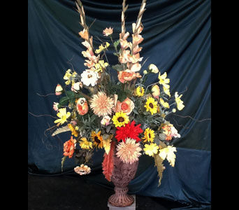 Large Silk Autumn Arrangement in Pensacola FL, R & S Crafts & Florist