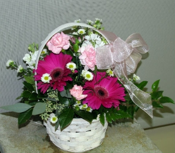 Blooms For Hope Basket in Traverse City MI, Teboe Florist
